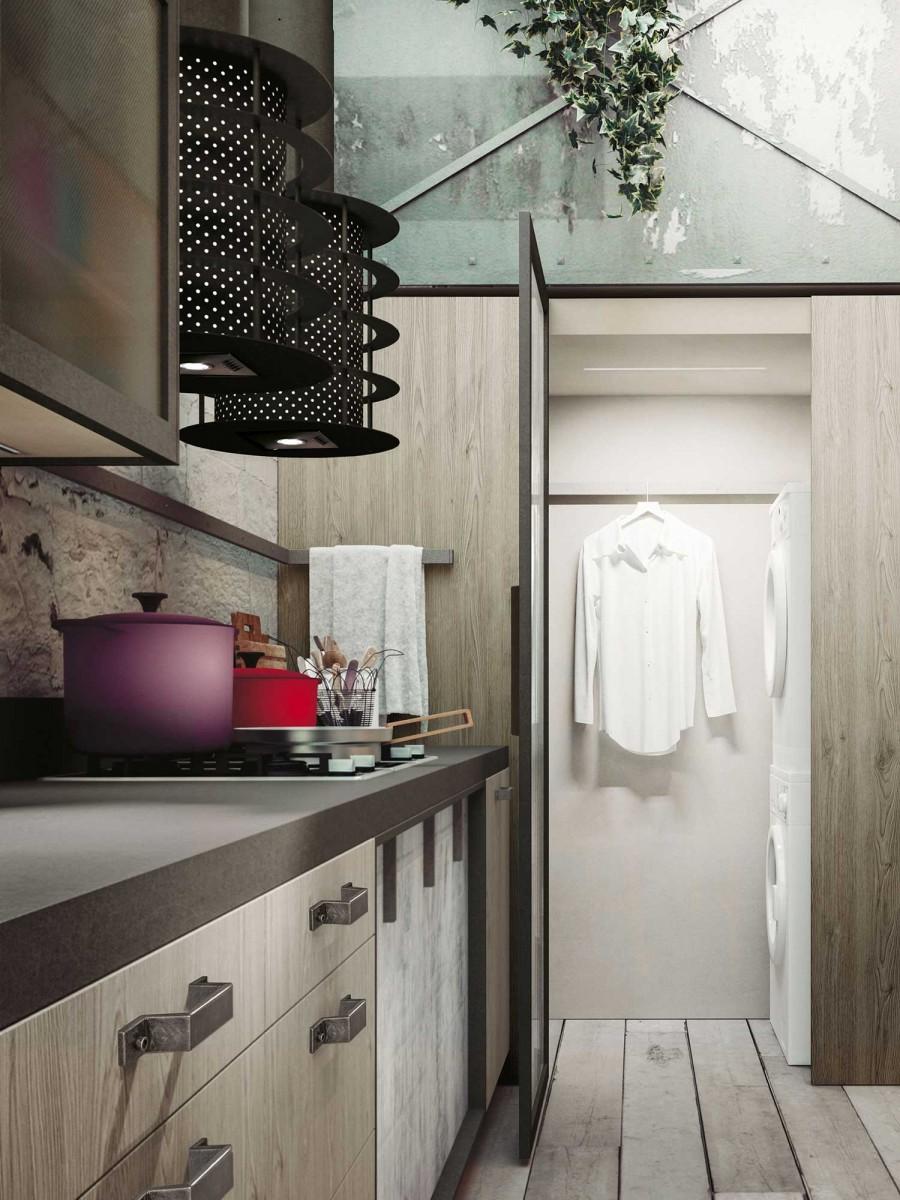 Alberto salutini mobili cucine snaidero ponsacco loft - Cucine per loft ...